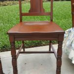Newly Restored Dining Room Chair