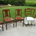 Newly Restored Dining Room Chairs