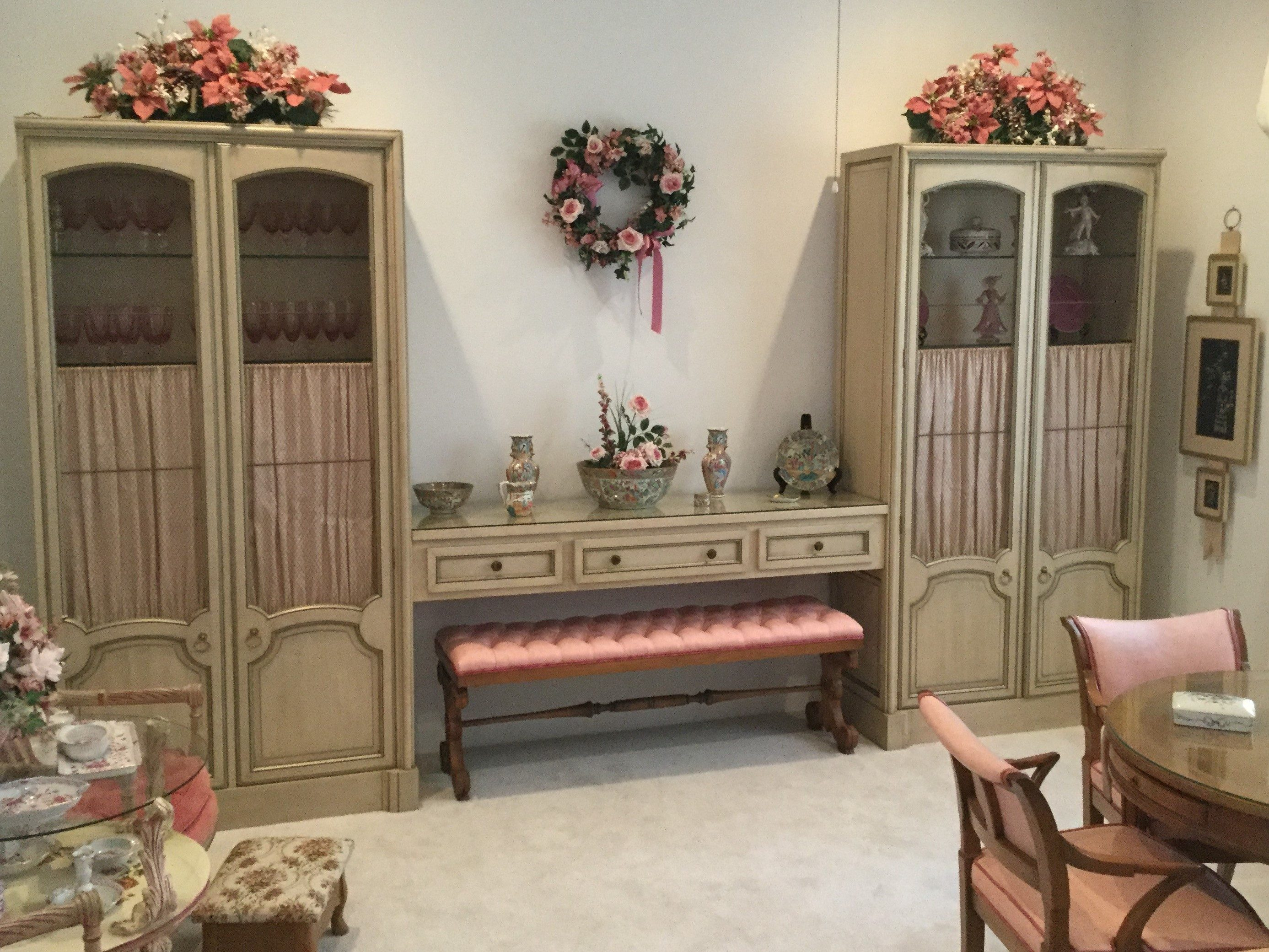 Newly Restored (3) Piece Wall Unit